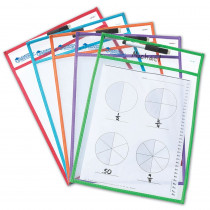 LER0477 - Write & Wipe Pockets in Dry Erase Sheets