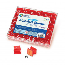 LER0598 - Lowercase Alphabet & Punctuation Stamps in Stamps & Stamp Pads