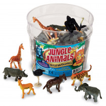 LER0697 - Jungle Animal Counters in General