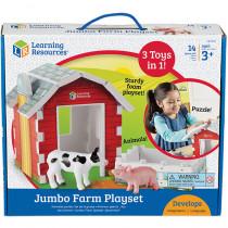 LER0831 - Jumbo Farm Play Set in Blocks & Construction Play