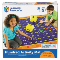 LER1100 - Hip Hoppin Hundred Mat in Mats
