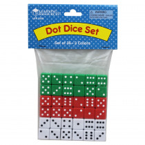 LER2229 - Dice Dot 36-Pk in Dice
