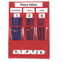 LER2416 - Counting & Place Value Pocket Chart in Pocket Charts