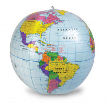 LER2432 - 12 Inflatable Globe in Globes