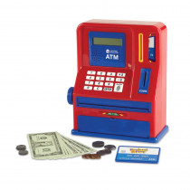 LER2625 - Pretend And Play Teaching Atm  Bank in Pretend & Play