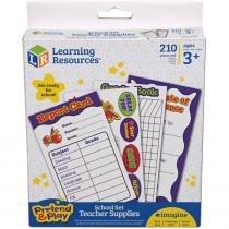 LER2649 - Pretend & Play School Set Accessory Kit in Pretend & Play