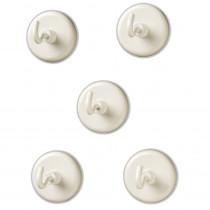 LER2698 - Magnetic Hooks Set Of 5 in Fasteners