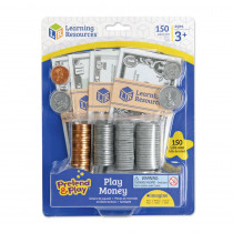 LER2725 - Pretend And Play Play Money in Pretend & Play