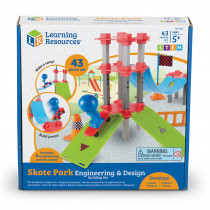 LER2845 - Skateboard Builder Engineering Set in Blocks & Construction Play