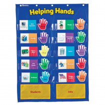 LER2903 - Pocket Chart Helping Hands in Pocket Charts