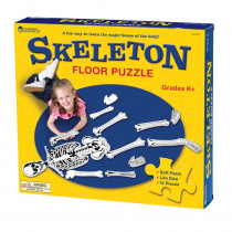 LER3332 - Skeleton Floor Puzzle in Floor Puzzles