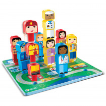 LER3375 - Peg Friends Around The Town in Games