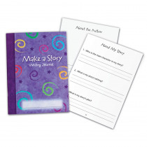 LER3469 - Make A Story Writing Journal 10/Set in Writing Skills