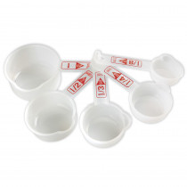 LER4290 - Measuring Cups Set Of 5 in Measurement