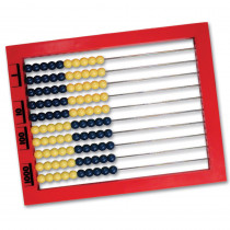 LER4335 - 2 Color Desktop Abacus in Counting