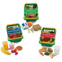 LER5340 - Play Set Healthy Foods Set Of 55 Bundle in Play Food