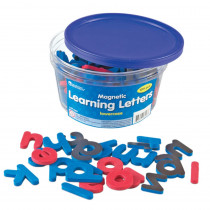 LER6297 - Magnetic Learning Letters Lowercase in Magnetic Letters