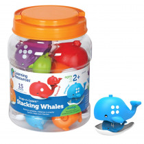 LER6709 - Snap-N-Learn Stacking Whales in Sorting