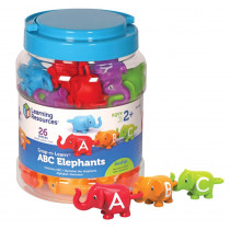 LER6710 - Snap-N-Learn Abc Elephants in Language Arts