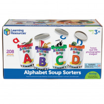 LER6801 - Alphabet Soup Sorters in Letter Recognition