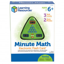 LER6965 - Minute Math Electronic Flash Card in Math
