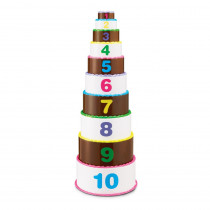 LER7312 - Smart Snacks Stack & Ct Layer Cake in Counting