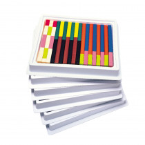LER7502 - Cuisenaire Rods Multi-Pack Plastic in Counting