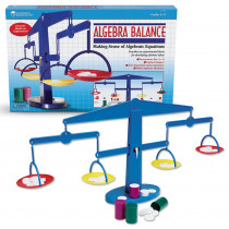 LER7545 - Four-Pan Algebra Balance 4-Pk 4 Plastic Pans Canisters Weights in Algebra