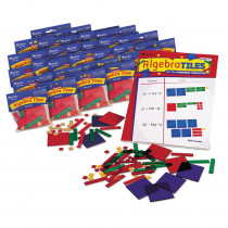 LER7547 - Algebra Tiles Classroom 30-Set 30 Student Sets in Algebra
