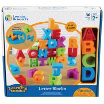 LER7718 - Letter Blocks in Blocks & Construction Play
