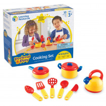 LER9155 - Pretend & Play Cooking Set 10 Pcs in Homemaking