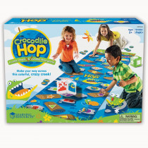 LER9544 - Crocodile Hop Floor Game in Classroom Activities