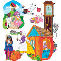 LFV22001 - Flannelboards Set 1 Nursery Rhymes Pre Cut in Flannel Boards