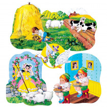 LFV22003 - Flannelboards Set 3 Nursery Rhymes Pre Cut in Flannel Boards