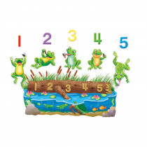 LFV22703 - Five Speckled Frogs Flannelboard Set in Flannel Boards