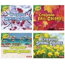 LPB1541514742 - Crayola Seasons St Of 4 Books Slide in Holiday/seasonal
