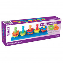 LR-2114 - Shape & Color Sorter Ages 2-6 in Sorting