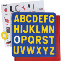 LR-2305 - Puzzle A-Z Capital 2T Letters Ages 3-6 in Alphabet Puzzles