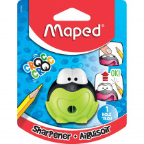 MAP017749 - Croc Croc Signal Frog Sharpener 1 Hole in Pencils & Accessories