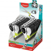 Koopy Spring-Assisted Educational Scissors, 5 Display of 20 - MAP137910 | Maped Helix Usa | Scissors""