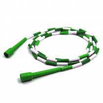 MASJR7 - Jump Rope Plastic 7 Sections On Nylon Rope in Jump Ropes