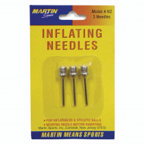 MASN2 - Inflating Needles 3-Pk On Blister Card in Pumps