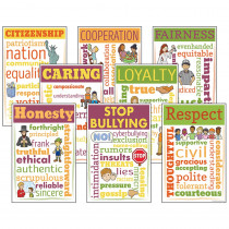 MC-CC3110 - Character Education Chatter Charts in Motivational