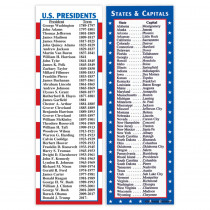 MC-K1160 - States & Capitals And Presidents Sm in Social Studies