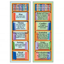 MC-K1163 - Smart Bookmarks Elements Of Literature in Bookmarks