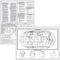 MC-M231 - Activity Posters Basic Map Skills 17X22 in Maps & Map Skills