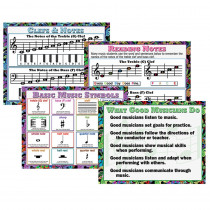 MC-P960 - Music Teaching Poster Set in Miscellaneous