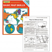 MC-R651 - Basic Map Skills Gr 6-9 in Maps & Map Skills