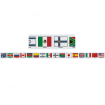 MC-Y1512 - Border Flags Of Nations in Border/trimmer