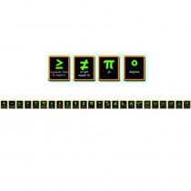 MC-Y1547 - Math Symbols Brainy Borders in Border/trimmer